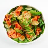 Зелений салат з лососем (280г)