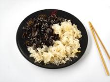 Салат Інь-Янь (білі та чорні гриби) (200г)
