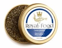 Caviar Reale - Servito con pane e burro
