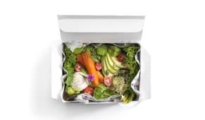 Roasted Carrots & Avocado Salad