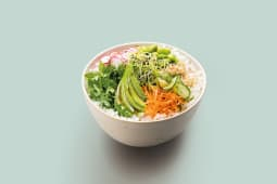 Poke bowl vegetarien