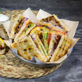 Sandwich Pita club porc/pui/mixt