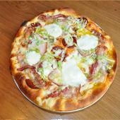 Pan pizza Bacon