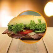 Roastbeef Sandwich (16 cm.)