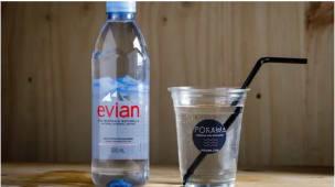 Bouteille d'Evian 50cl