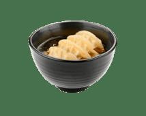 Суп с пельменями гедзе (300г)