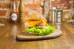 Burger Saumon grillé