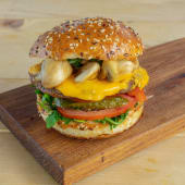 Funghi Cheeseburger