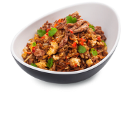 Смажений рис зі свининою BBQ (280г)