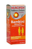 Nurofen Febbre e Dolore Bambini 100 ml (200 mg/5 ml) gusto arancia
