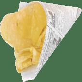 Cartucho de patatas fritas chips