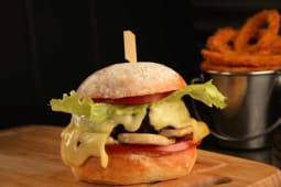 Mushental Burger