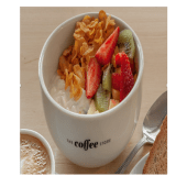 Granola casera con yoghurt natural
