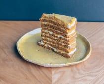 Торт медовик точнісінько як у матусі (225г)