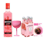 Beefeater Pink 750Ml +  Four Pack Mr Perkins 200 Ml