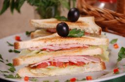 Клаб-сендвіч з шинкою (200г)
