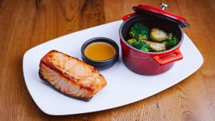 Grilled Salmon Medium