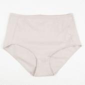 Panty Tradicional Tiro Alto Color Nude Talla S