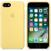 Coque Original Apple en silicone Jaune Pollen