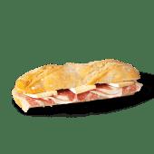 Panino de jamón Ibérico y brie (caliente)