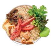 Tazón de arroz silvestre