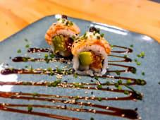 Tasty salmón roll (8 uds.)