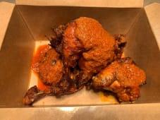 Pollo frito con Mojo Gomero