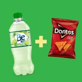 Be Light (500 ml.) + Doritos