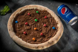 Pizza Nutella M&M Ø 32cm
