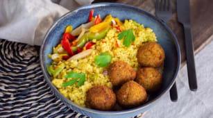 La Box Falafel (végétarien)