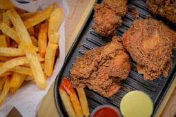 Chicken - 3 Pieces Combo Meal