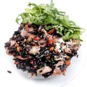Exotic risotto cu orez negru integral