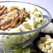 Ensalada Caesar de pollo
