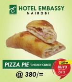 Buy 2 Chicken Pizza Pies Get 1 Free