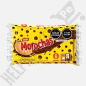 Galletas Morochas Bañadas con Pasta Sabor a Chocolate Paquete x 6Und.