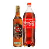 Havana Club Añejo Especial 700 Ml + Coca Cola 1.5 Lt.