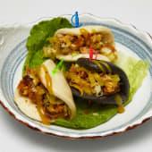 #T1b Bun bao pollo crujiente (2 uds.)