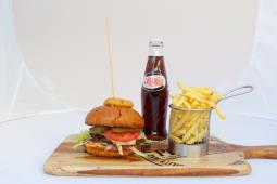 Meal Deal Premium Beef Burger