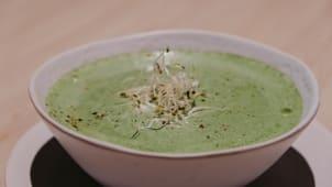 Крем - суп шпинатний