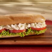 Sándwich de pollo en pan lápiz