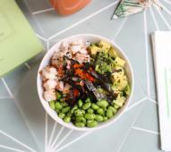 Shrimp & Avocado Sushi Bowl