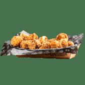 Bolitas de Pollo y nachos