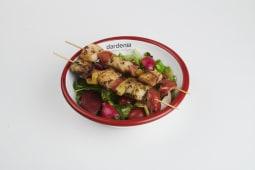 Balık Şiş Salata