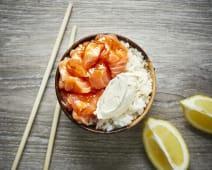 Salmon Roll Bowl