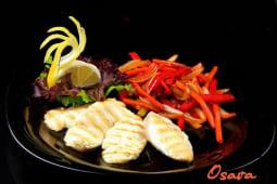 Судак з овочами (180г)