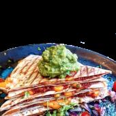 Quesadillas De Chorizo Vegano