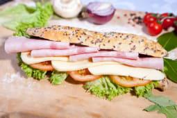 Sandwich sunca si cascaval