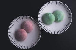 Mochi gelato al té verde (2 uds)