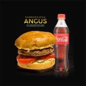 Hamburguesa Angus + Coca cola