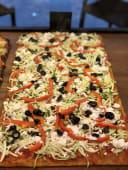 Pizza Zucchini (blat integral)